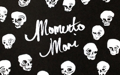 Memento Mori screen print
